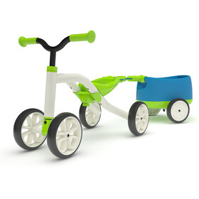 Chillafish Quadie+Trailie Enfant, lime